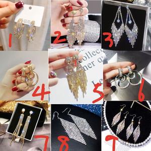 YFJEWE 2020 New hot sale Crystal Rhinestone Earrings Women Gold Sliver Hoop Earrings Fashion Jewelry Earrings For Women01