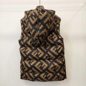 Lüks Erkek Kadınlar Aşağı Yelek Parka Ceket Casual Aşağı Palto Kış Ceket Erkek Açık Isınma Parkas Tasarım Palto Çift Taraflı B103527L