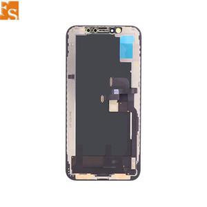 LCD للحصول على اي شاشة LCD X XS XSMAX XR مع شاشة 3D تعمل باللمس محول الأرقام OLED TFT LCD الجمعية كاملة استبدال 100٪ اختبارها جيد