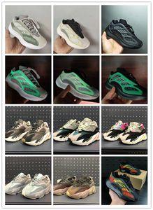 2020 designer Kids Running 700 V3 Shoes Kanye West Wave Runner 700s children Trainers Sply Sports Sneakers Toddler Shoe Size :24-35