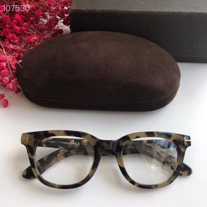 High-quality Newest fashionTF5558-B unisex glasses frame 46-21-145mm for prescription glasses imported pure-plank full-set case freeshipping