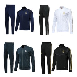 2019 2020 Real Madrid soccer jacket tracksuit long pants jackets 19 20 jacket Training suit kits soccer tracksuit RONALDO Sweatshirt