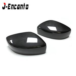 من أجل Infiniti G37 G25 Carbon Fiber Mirror Side View Caps G Series Coupe 2009-2014 أضف على أسلوب الإستبدال