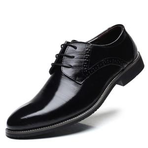 Baoluma Uomo Scarpe eleganti a punta Scarpe eleganti da uomo in pelle moda di lusso Scarpe da uomo Scarpe oxford Abito di grandi dimensioni 38-48
