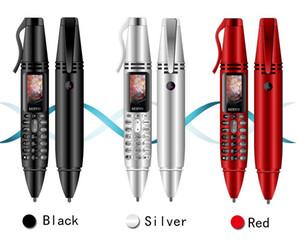 """SERVO K07 Pen mini téléphone portable 0,96 """"Tiny Screen GSM Dual SIM caméra lampe de poche Bluetooth Dialer téléphones mobiles avec stylo d'enregistrement"""