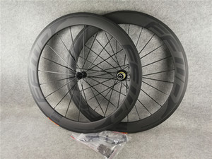 FFWD BOB 60MM WheelSet 700C Carbon Road Bike Roues UD Matte + Aero Spokes 20-24H Glossy / Matte