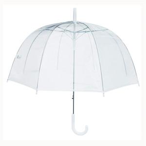 Arco Ombrello trasparente a forma di fungo decorazione erbaccia partito parasole chiaro anti-pioggia anti-pioggia impermeabile