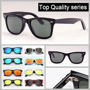 высокое качество квадратные дизайнерские солнцезащитные очки brand new sunglass 2140 ацетатная планка рамка реальные UV400 стеклянные линзы солнцезащитные очки gafas для женщин мужчин