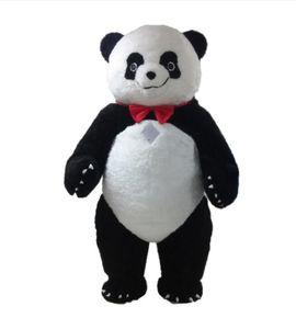 Profissional personalizado grande Panda Mascot Costume dos desenhos animados urso panda gordo Animal Caráter Roupas festival de Halloween Do Partido Do Vestido Extravagante