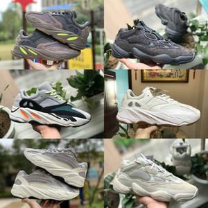 2019 Adidas Yeezy wave runner 700 Boost sply 500 V2 Yeeyz Shoes 2019 NEUE Billige Mode Männer Frauen Schwarz Weiß Blau Casual Wanderschuhe A00569