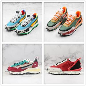 2020 Retro kalın dibe koşu doğa sporları basketbol eğitmenler için EVA köpük orta taban süet uygun ayakkabıların spor ayakkabısı gündelik koşu ayakkabıları