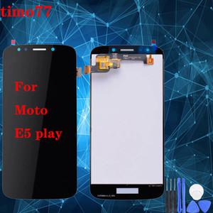 Superqualität für Motorola Moto E5 Play-LCD-Bildschirm mit Touch-Screen-Analog-Digital wandler Display-Bildschirm Ersatz für Moto E5 Spiel frei DHL