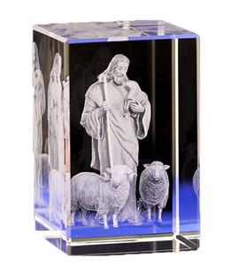 Kristal İsa Heykeli, Kutsal Din Hristiyanlık Katoliklik Yatak Odası Süsleme Erkekler Kızlar Doğum Hediye Noel hediyelerinin