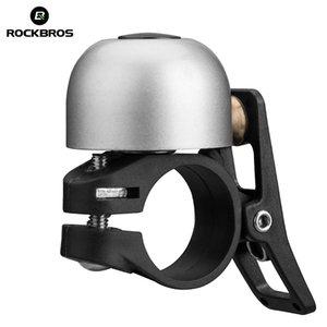 ROCKBROS Cycling Bike Bicycle Bell Aluminium Horn Ring MTB Bike Mini Bell Handlebar Ring Clear Loud Sound Bicycle Accessories