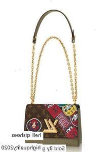 Twist Mm M43497 Women Fashion Shows Shoulder Totes Handbags Top Handles Cross Body Messenger Bags