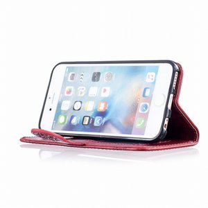 Luxury Leather Stand Phone Case For Apple iphone X XR XS Max 7 8 6 6s Plus 5 5S SE 5C Magnet Lock Wallet Card Pocket Cover D98Z