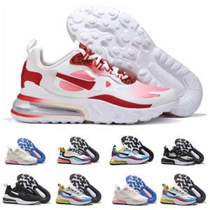 Nike Air Max 270 React 2019 новых людей и женщин Открытый кроссовки Chassures Homme Man Спорт Тренеры Баскетбол обувь Zapatos Размер Eur 36-46