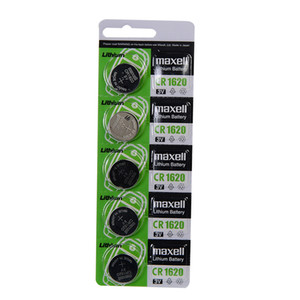 Maxell CR1620 3v manganese dioxide lithium button battery original car key remote control battery 1 card 5