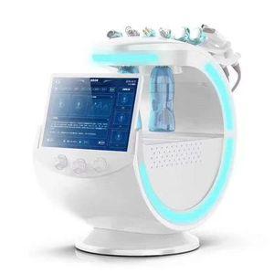 جديد 7 في 1 متعددة الوظائف الأكسجين الهيدروجين فقاعة صغيرة آلة الوجه الأكسجين جت الجلد تقشر معدات تجميل microdermabrabras