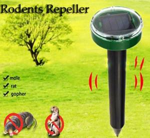 Giardino esterno Mole repellente Solar Power Ultrasuoni Mole Snake Bird Mosquito Mouse Ultrasuoni Repeller parassiti Giardino di controllo