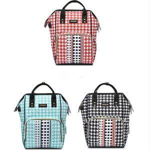 Baby Diaper Bag Fashion Mummy Maternity Nappy Bag Large Capacity Baby Bag Nursing Bags For Mother Waterproof Zipper Nursing Bags USP