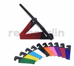 phone holder V Shape Mini Foldable Multifunctional Phone Holder V Shape Design Stand for Cell phone Tablet PC ipad all Bracket Holders