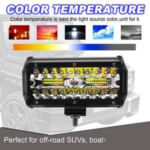 120W 40-LED Off-road Work Light Flood Spot Combo Impermeable Lámpara antiniebla de conducción