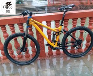 27 Velocidad de bicicleta de suspensión completa de aleación de aluminio 26 * 17 pulgadas bicicleta de montaña los frenos hidráulicos de bicicleta de montaña bicicleta