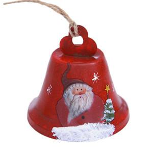 Dekore Noel ağacı Bell kolye ucuz YH Asma Noel Bells Ferforje Boyalı Bells
