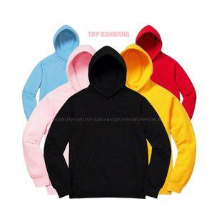 OBEN!! 19FW Bandana BOGO Hoodie UNHS Stickerei Fleece Baumwollhoodies Paar Mode Sweatshirts HipHop Skateboard Pullover DSFS256