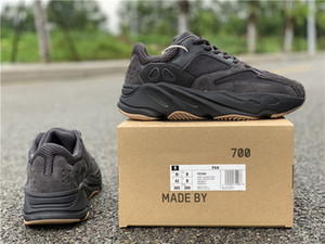 Date 2019 Authentic Originals 700 Utilitaire Noir FV5304 Tephra FU7914 Hommes Femme Chaussures De Course REFLECTIVE Kanye West Athletic Sneakers