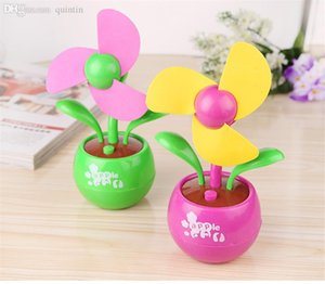 Mini Electric Fan regalo all'ingrosso-Desk Set Apple Blossom Fan USB 1 Pezzo