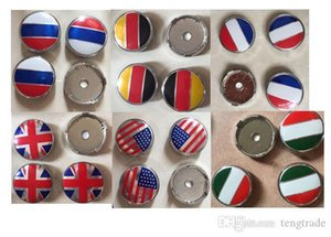 Free Shipping 4 pcs 60mm Car Wheel cover Union Jack Italy França Alemanha USA bandeira russa Inglaterra Batman Skull Head logótipo spideman adequado para BMW