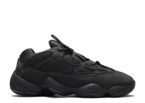 Hombres Mujeres Deporte Zapatillas de deporte 500 Visión suave para la venta Mejor calidad Utilidad Black Bone Blanco Zapatos con caja Envío Gratis