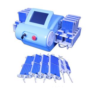ABD'de Sıcak !!! Zerona Lipoliz Lipo Lazer Makinesi burnining Lipo Laser Güçlü 528 Diyot LipolaseR Selülit