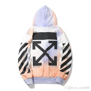 OFF Paris limited hoodie mens high quality casual fashion hooded hoodie Europe and the United States original couple hooded sweater ZBUF