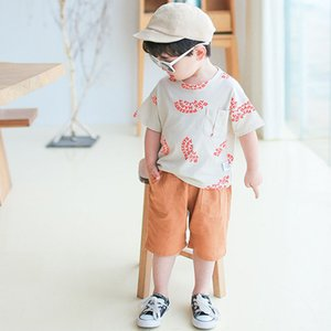 Children's shorts 2019 summer new Korean children's wear cotton children's tooling baby big pocket hot pants