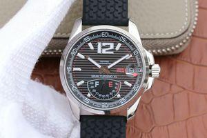 course V6 168457-3001 classique. énergie cinétique complète mouvement automatique mécanique! diamètre 44mm, montre homme, bracelet en silicone