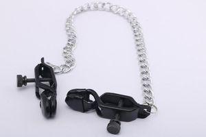 تحفيز الألعاب عبودية الكبار المعادن الجنس الثدي ل Nipple Toys Loys Toys for Women Clitoris Labia Clamps Couples Sl Aqqh