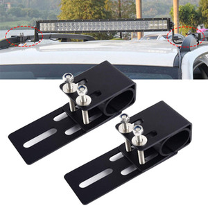 1PAIR Car Luggage Rack Mounting Bracket SUV Roof Light Bar Stand Offroad LED Lamp Holder Universal For BMW HONDA HAMMER BUICK TOYOTA
