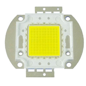 Lâmpada LED High Power Chip Quente Pure 3000-3500K Branco Frio Iluminação Beads 10W 20W 30W 50W 70W 80W 100W Integrated Matrix Bulb COB