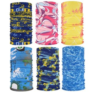 6PCS Волшебный шарф Многофункциональный Summer Sun-Proof Спорт Маска для лица шеи протектор для наружной рыбалки езда Скалолазание