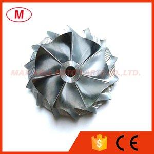 GT15-25 38,58 / 52,00 milímetros 7 + 7 lâminas de alto desempenho Turbo tarugo roda do compressor / Alumínio 2618 / roda de trituração por turbocompressor Cartucho / Chr