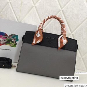 New Fashion High-end Luxury Matching   Solid Handbag With Silk Scarf Lychee Designer Bag Color Optional Number: 2027.