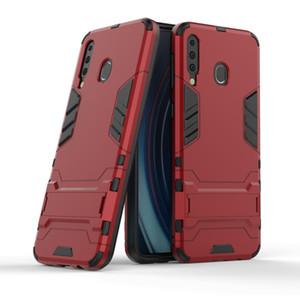 Híbrido Kickstand Anti Choque Armadura Caixa Defender cobertura para Samsung Galaxy S10 além S10 S10E S10 5G M30 M10 M20 A10 A40 A70 A30 A50 A70 170P