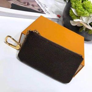 Lüks Tasarım Zippy Madeni Para Çanta Anahtar Kılıfı Tasarımcı Small- Ölçekli Çanta Deri Ürünleri Kadın Erkek Unisex Mini Cüzdan