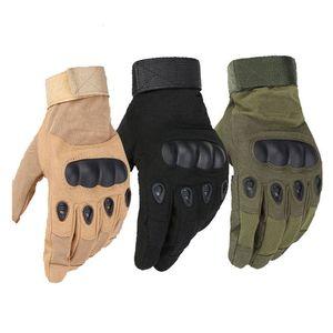 Outdoor Sports Tactical Gloves Vollfinger für Wandern Reiten Radfahren Military Herren Handschuhe Rüstung Schutz Shell Handschuhe