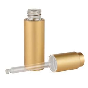 200 stücke 20 ml Leere Aluminium Dropper Ätherisches Öl Flasche Nachfüllbare Tropfen Flüssigkeit Pipette Flaschen neue