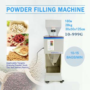 10 ~ 999G automatique de poudre et Racking Machine de remplissage de remplissage en poudre Pesée Peser Machine pour thé graines de semence
