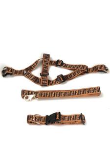 Hundegeschirre Brief-Druck-Hundehalsbänder Katzen-Haustier-Kasten-Rück Band Anzug im Freien Hund Safety Products Leinen QWE15